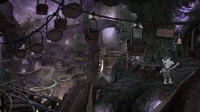 Screenshots from the 2021 Rough Draft Studios cartoon Subterranean Homesick Blues