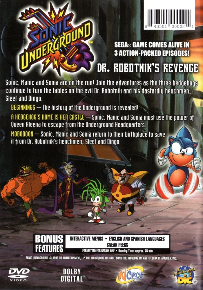 Sonic Underground Dr Robotnik S Revenge The Internet Animation
