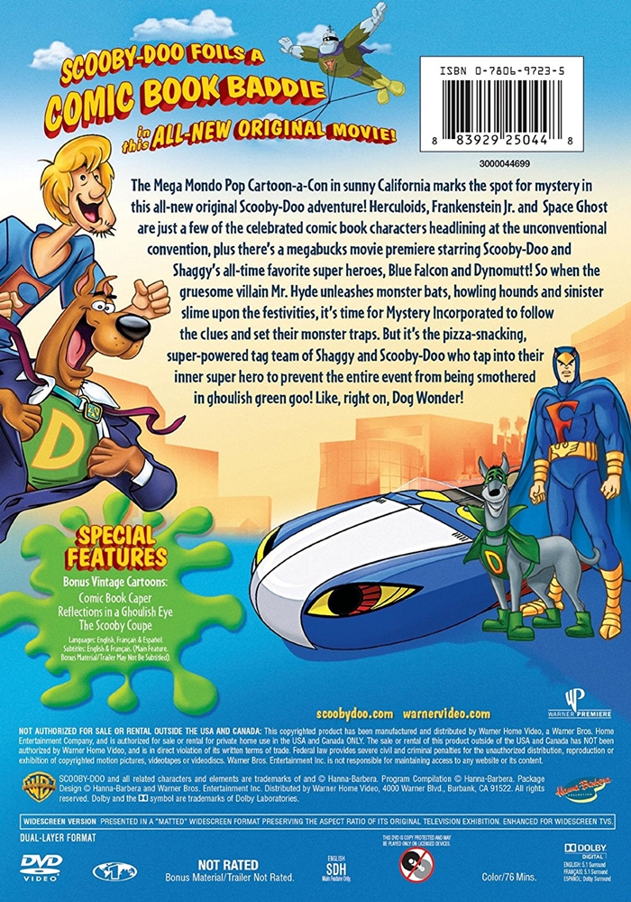 scooby doo mask of the blue falcon