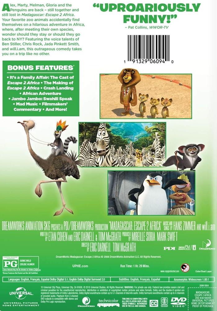 Madagascar Escape 2 Africa The Internet Animation Database