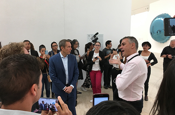 Duchamp and Koons take Mexico City