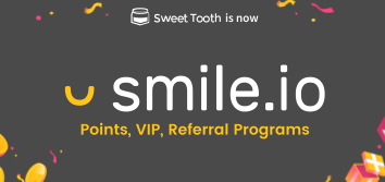 Points, VIP, Referral Programs by Smile.io (Sweet Tooth)