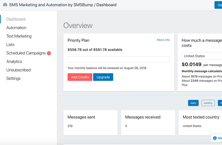 SMSBump | BigCommerce