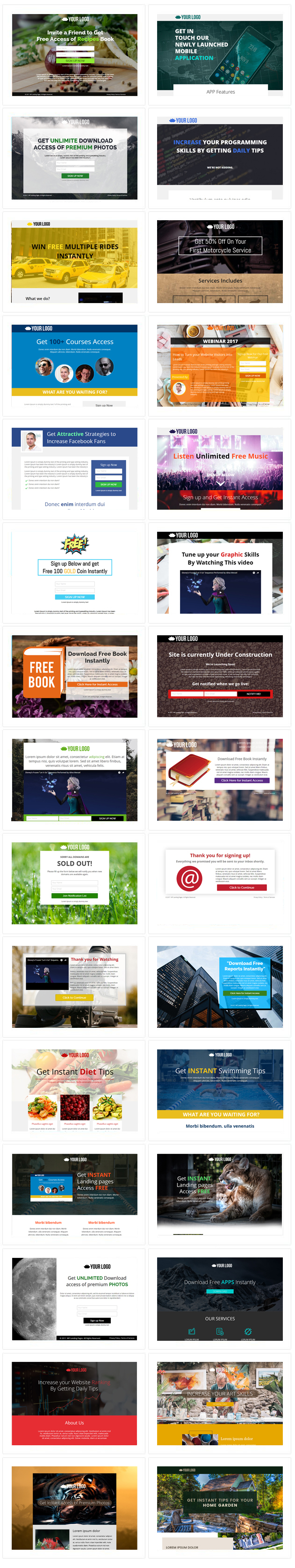 WP Landing Pages Pro