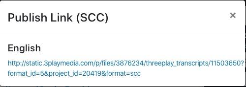 SCC caption format link