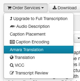 Select Amara Translation