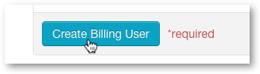 Create Billing User