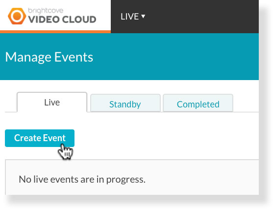 Brightcove Live Auto Captioning: Scheduling an Event – 3Play