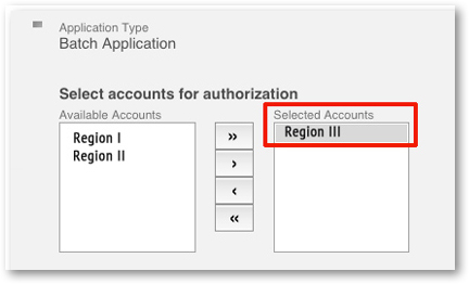 Select Accounts from Brightcove CMS