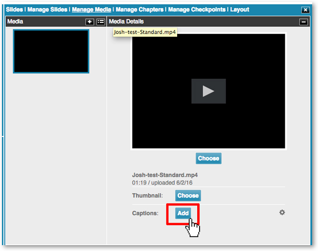 Send request for closed captions to 3Play Media from DigitalChalk