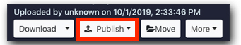 Publish Plugin button