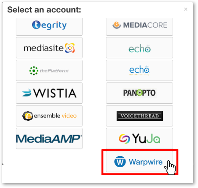 Select Warpwire
