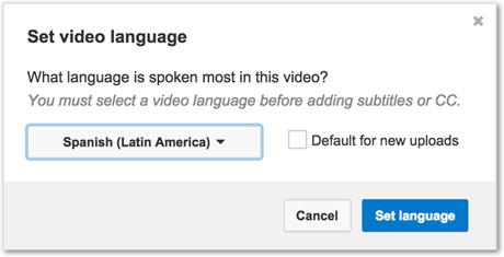 Select Subtitles and CC