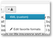 XML Caption download for Echo360