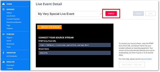 Live Auto Captioning: Streaming with JWPlayer – 3Play Media Support