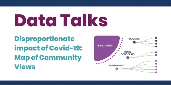 Wed, 24 Feb, 9-10am, Datawise London and GLA - analysis and insights on disproportionate impact of Covid on BAME and faith communities in LDN