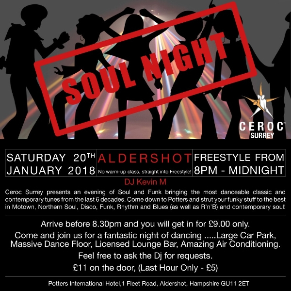 Freestyle and Ceroc Workshops