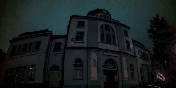 Paranormal Eye UK Ghost Hunt The Grand pavilion Matlock bath