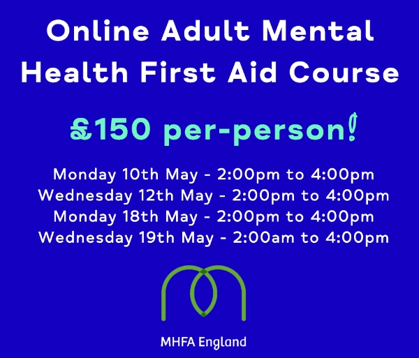 Online Adult Mental Health First Aid Course