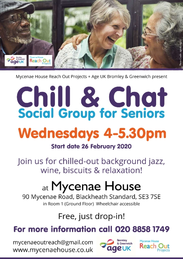 Chill & Chat Social Group for Seniors
