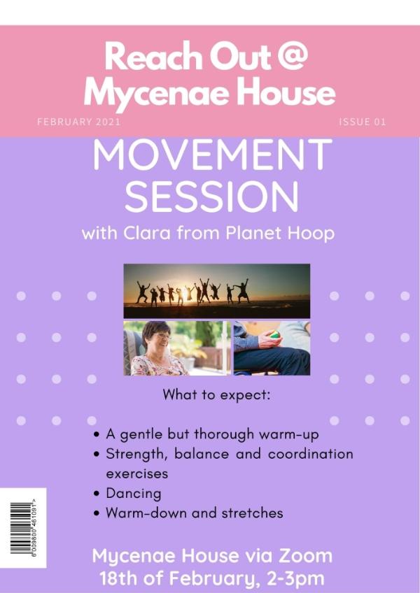 Gentle Movement Class with Planet Hoop (Online)