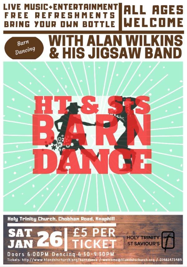 Barn Dance @ Holy Trinity Knaphill