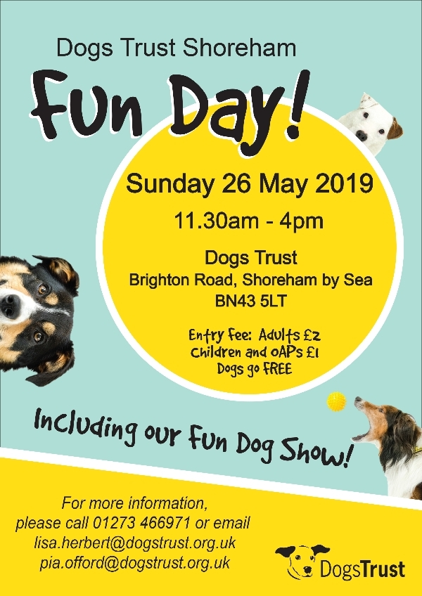 Dogs Trust Shoreham - Fun Day 2019