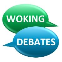 The Woking Debates logo