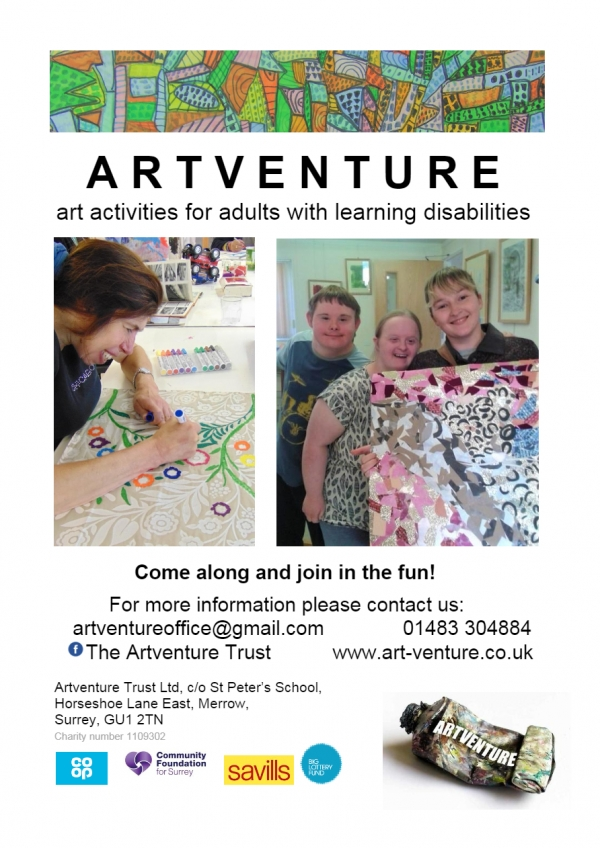 Artventure art activities for adults with learning disabilities
