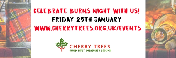 Burns Night Fundraiser in aid of Cherry Trees