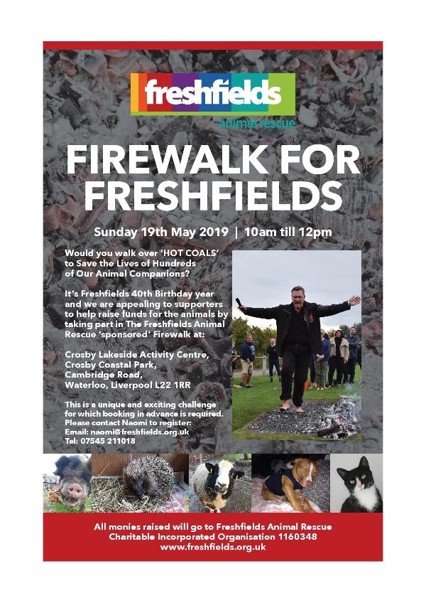 Firewalk for Freshfields!