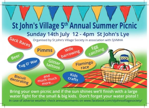 St John's Village Picnic