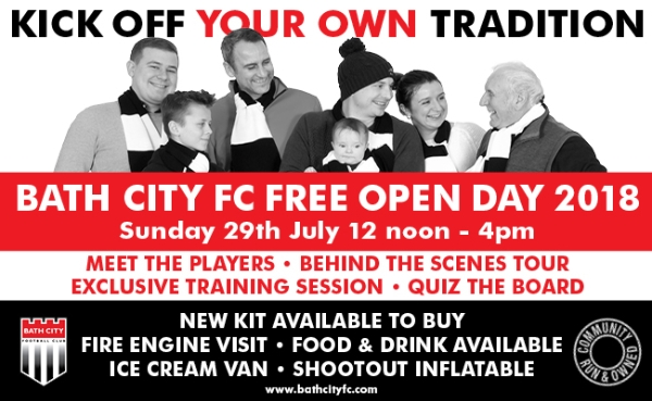 Bath City Open Day - Free fun for all the family