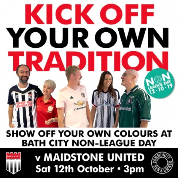 Bath City v Maidstone Utd - Non-League Day