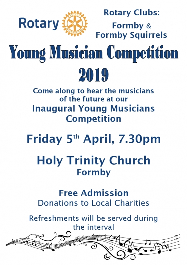 Formby & Formby Squirrels - Young Musician Competition