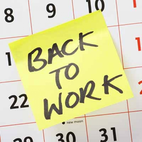 Return-to-work Workshop