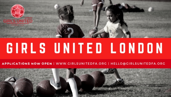 Girls United Football Club is Coming to London!