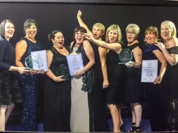 Triple win for local homes at Surrey Care Awards