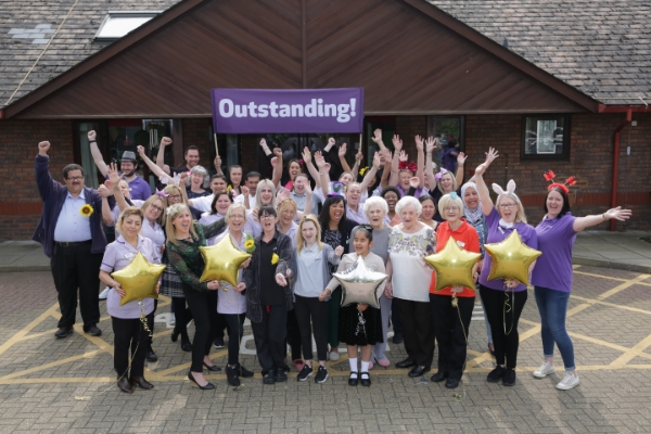 Epsom care home is first in Surrey to receive top rating