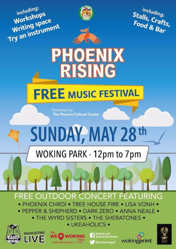 Phoenix Rising - Woking's very own live music festival returns!