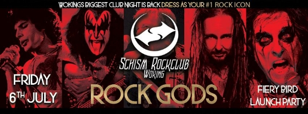 Schism Rockclub returns to Woking