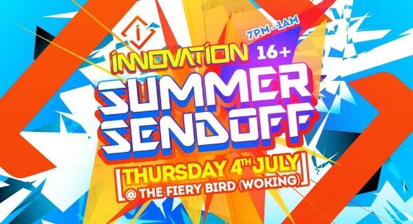 Innovation - Summer Send Off (16+)