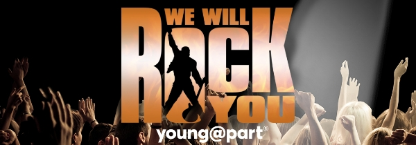 WE WILL ROCK YOU (young@part) - New Theatre Royal, Portsmouth (28-30 May 2020)