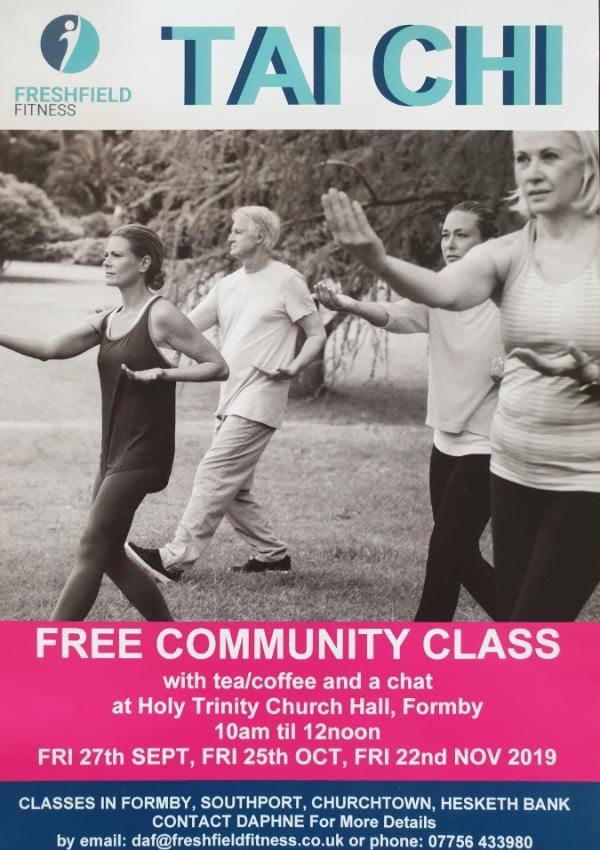 FREE COMMUNITY  TAI CHI CLASS