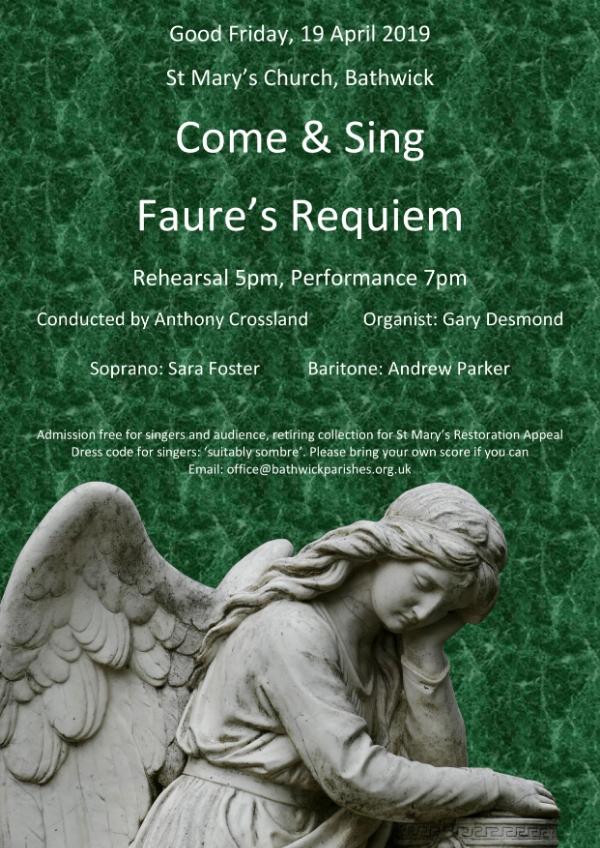 Come & Sing Faure's Requiem