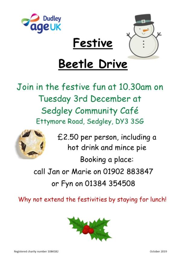 Festive  Beetle Drive