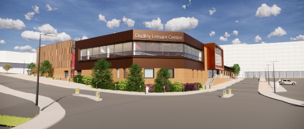 New designs for Dudley Leisure Centre