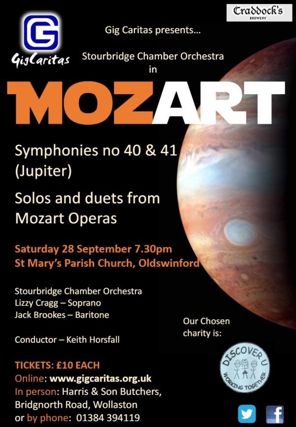 Stourbridge Chamber Orchestra perform Mozart