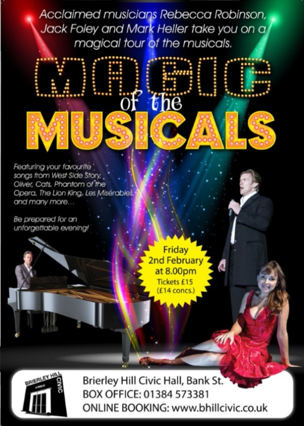 Come and experience the Magic of the West End, here at the Civic.