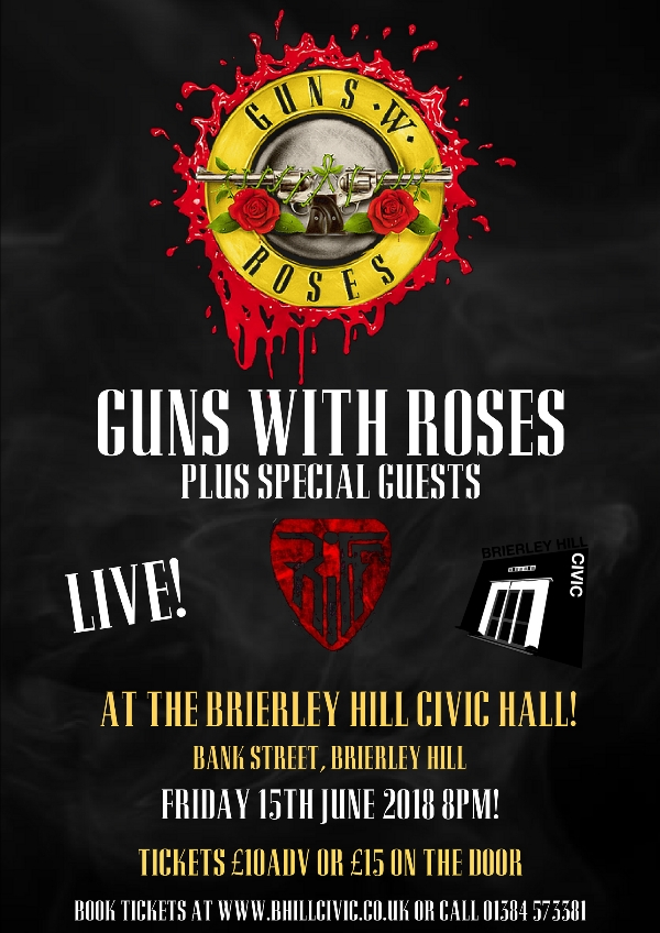 **Win tickets to Guns With Roses This Friday Night!**